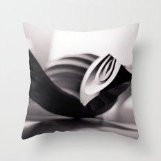 Paper Sculpture #1 Throw Pillow