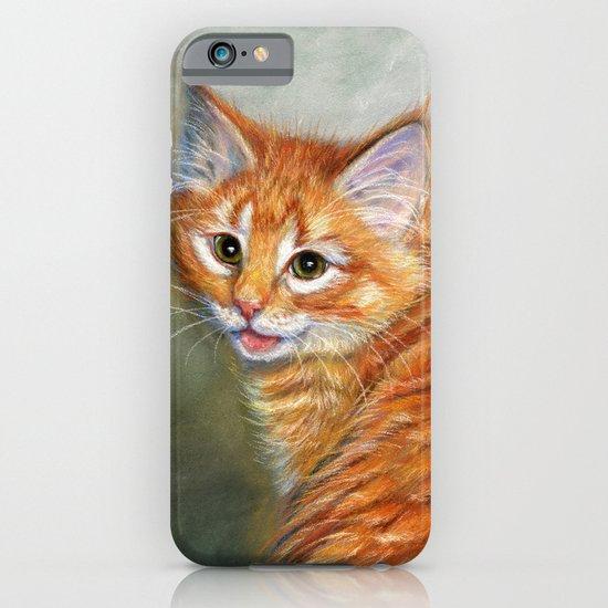 Ginger kitten  iPhone & iPod Case