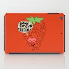 Strawberry Fields iPad Case