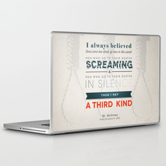 The Third Kind Laptop & iPad Skin