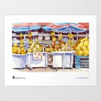 "Shari Blaukopf, ""Two For Five"" Art Print"