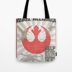 Join the Rebel Alliance Tote Bag