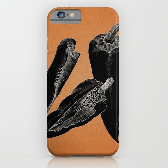 Chillies by night iPhone & iPod Case