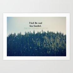 Where the.... ? Art Print