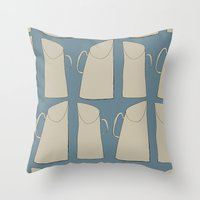Jugs Repeat Throw Pillow