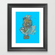 Bird Migration Framed Art Print