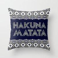 SAWASAWA 2 Throw Pillow