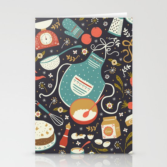 Carrot Cake Stationery Card