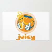 Juicy Orange Rug