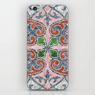Blue Mandala 03 iPhone & iPod Skin