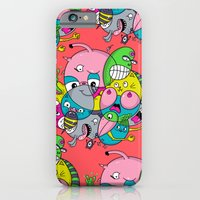 Scribble Ball iPhone 6 Slim Case