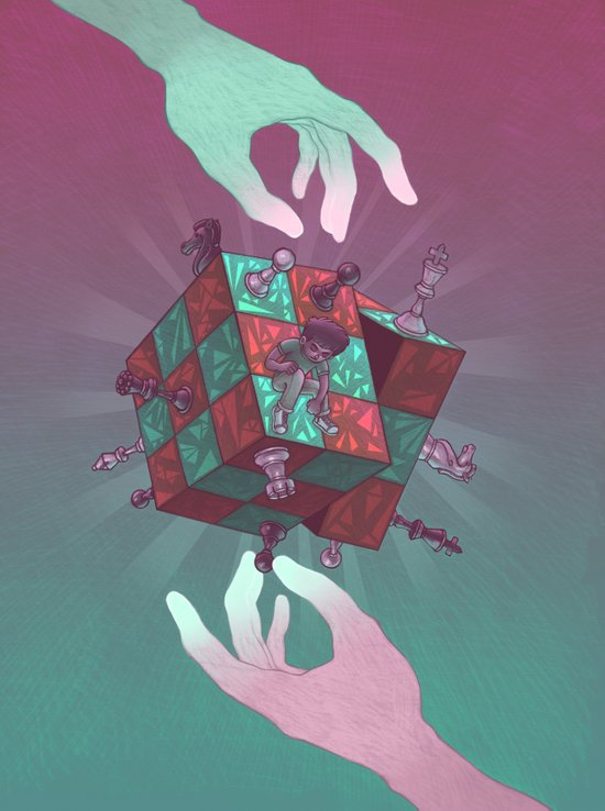 Mindgames Art Print