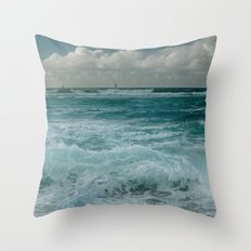 Hookipa Maui North Shore Hawaii Throw Pillow