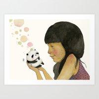 I Adore You, Baby Art Print