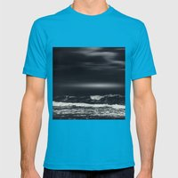 bLack sEa Mens Fitted Tee Teal SMALL