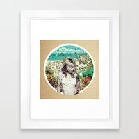 Falling Free Framed Art Print