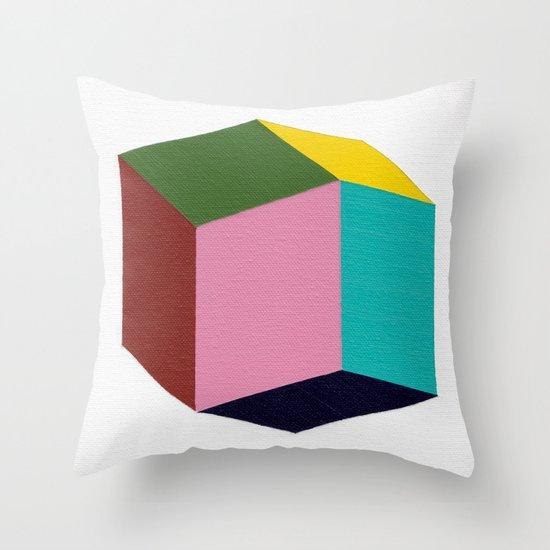 Rhombic Throw Pillow