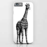Ornate Giraffe iPhone 6 Slim Case