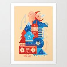 Music Fest' Art Print