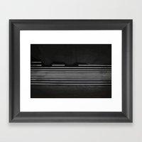 Welcome To Lights (Poste… Framed Art Print