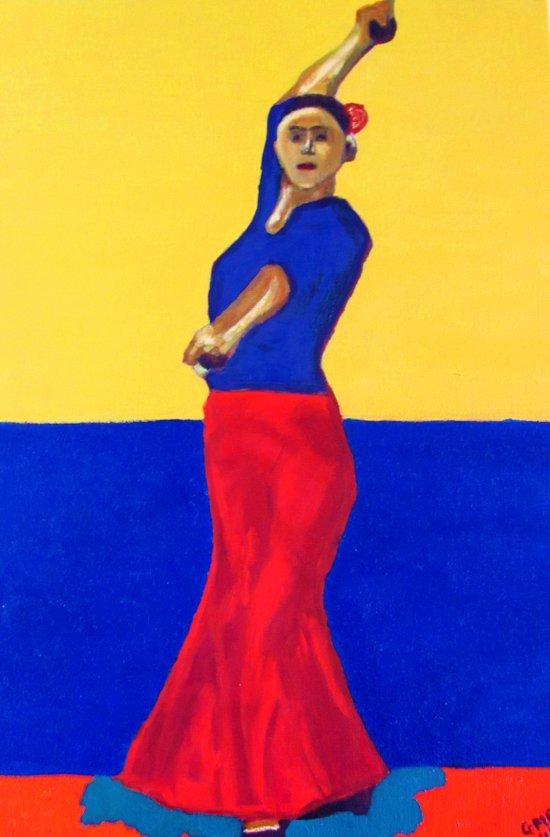 The Flamenco Dancer - ANALOG zine Art Print