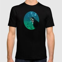 Dive Mens Fitted Tee Black SMALL