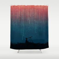 Meteor Rain Shower Curtain
