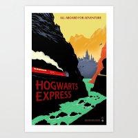 The Express Art Print