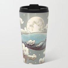 Ocean Meets Sky (original) Travel Mug