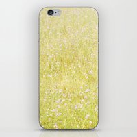 Sweet Light Wild Flowers iPhone & iPod Skin