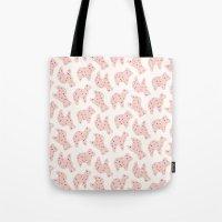 Animal Cookies - in Bubblegum Tote Bag