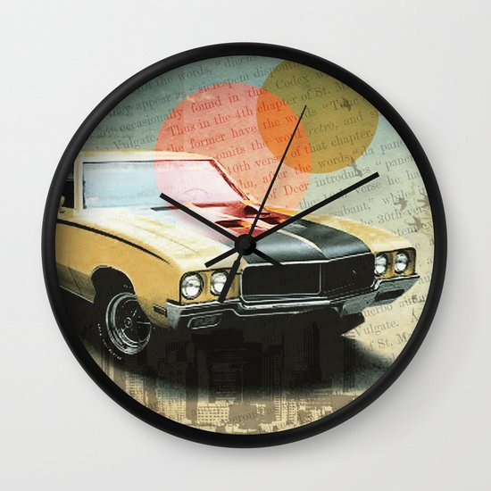 Buick Gran Wall Clock
