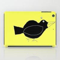 Meg's Crow iPad Case
