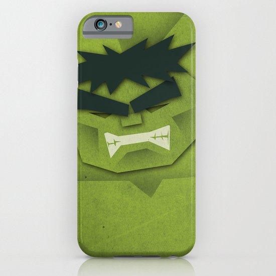 Paper Heroes - Hulk iPhone & iPod Case