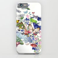iPhone & iPod Case featuring A flow of happiness by Hanne De Brabander