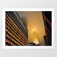 Wells Fargo Center - Minnesota Art Print