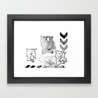Bear 2 Framed Art Print
