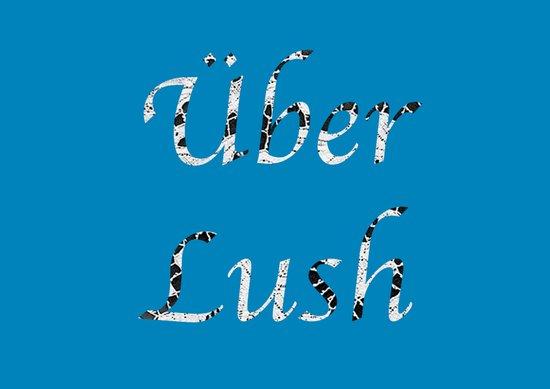 Uber Lush Blue Art Print