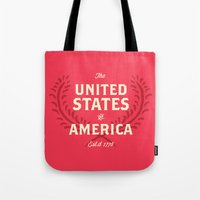 The United States Of Ame… Tote Bag