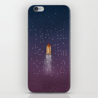 Travel to the Stars iPhone & iPod Skin
