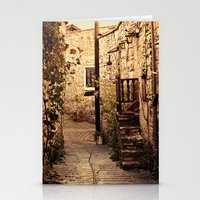Omodos Cyprus Alley Stationery Cards