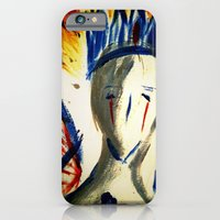 iPhone & iPod Case featuring KING OF NOTHING by RIGOLEONART