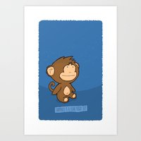 Happiness Is A Clear Nig… Art Print
