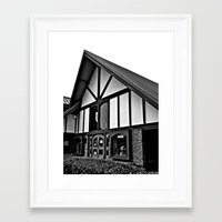 Framed Art Print featuring Robi's Camera Center by Vorona Photography