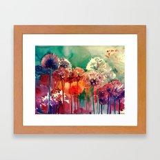 Allium 2 Framed Art Print