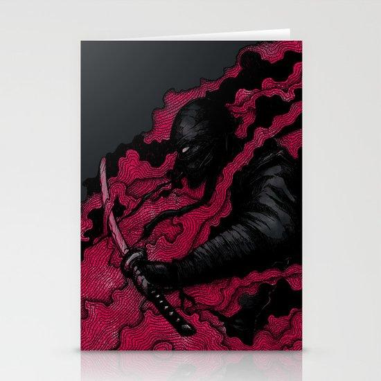 Ninja Stationery Card