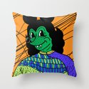 THE GREEN LADY. Throw Pillow