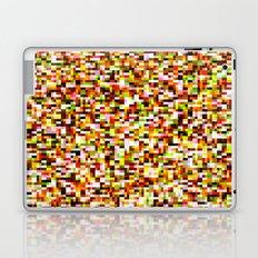 Noise pattern - yellow/red Laptop & iPad Skin