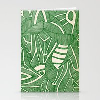 - green hope - Stationery Cards