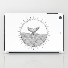 Whale In Waves iPad Case